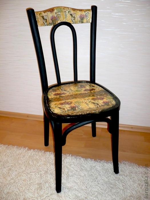 Техника декупажа на мебели - Фурнитека.