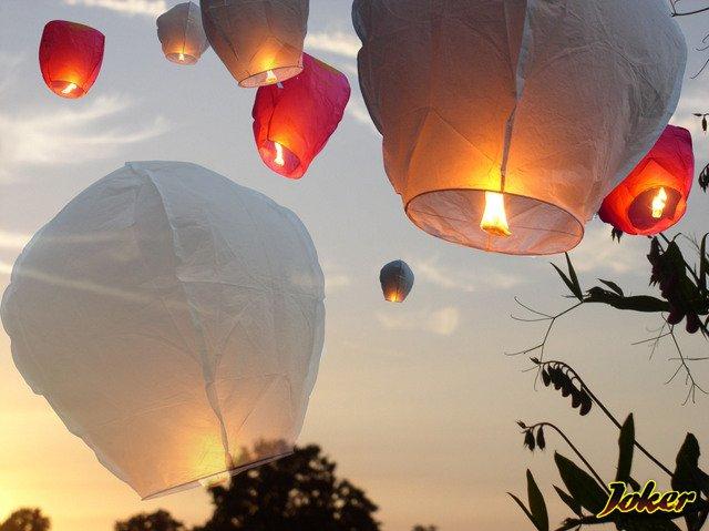 Как сделать небесные фонарики фото