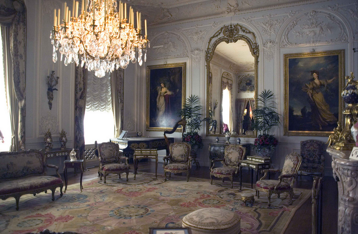 All sizes  The Grey Drawing Room, Waddesdon Manor, Buckinghamshire  Flickr - Photo Sharing! (700x457, 791Kb)