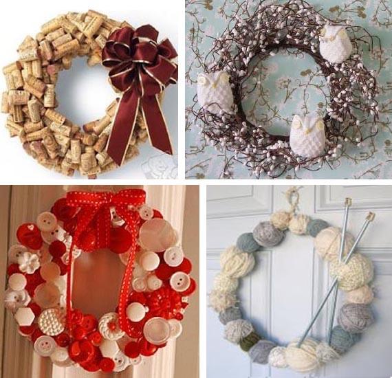 идеи для рождественских венков обсуждение на Liveinternet