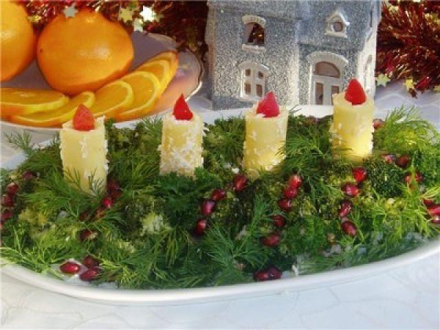 Салат получится не только красивым и праздничным, но и...