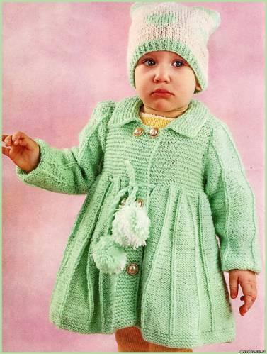 Вязание крючком теплые шапочки для девочки крючком.