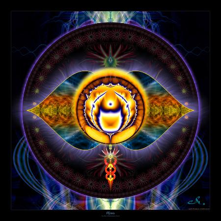 Аджна медитация