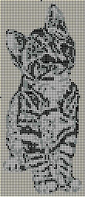 Вышиваем котиков - животные - Схемы для вышивки - Каталог статей - Мой...