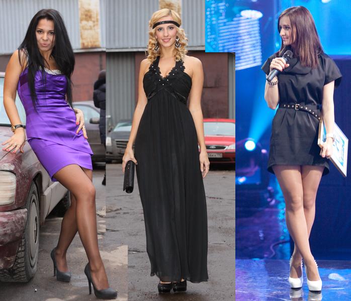 Предлагаем вам выбрать самый стильный новогодний наряд наших участниц.