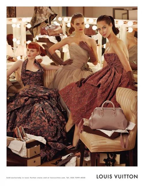 Рекламная кампания: Louis Vuitton Fall 2010.