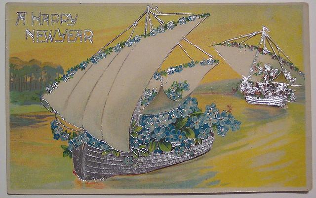 Британская открытка, открытка