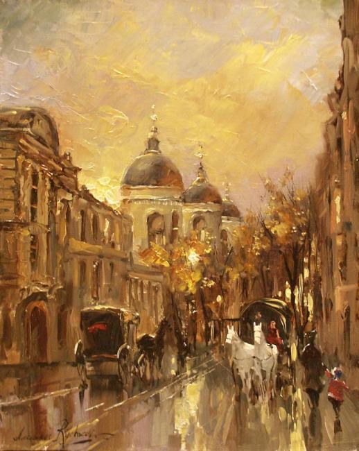 Улица старинного города (518x650, 58Kb)