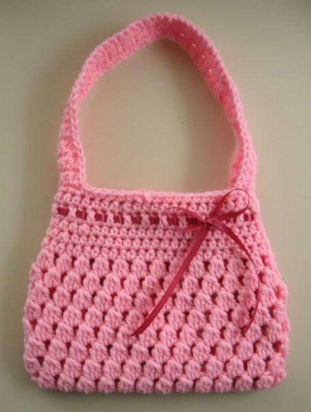 вязание крючком сумка для девочки - Сумки.