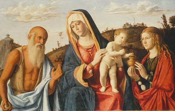 800px-Cima_da_Conegliano,_Madonna_col_Bambino_tra_S._Geremia_e_Maria_Maddalena._ca._1495 (700x445, 142Kb)