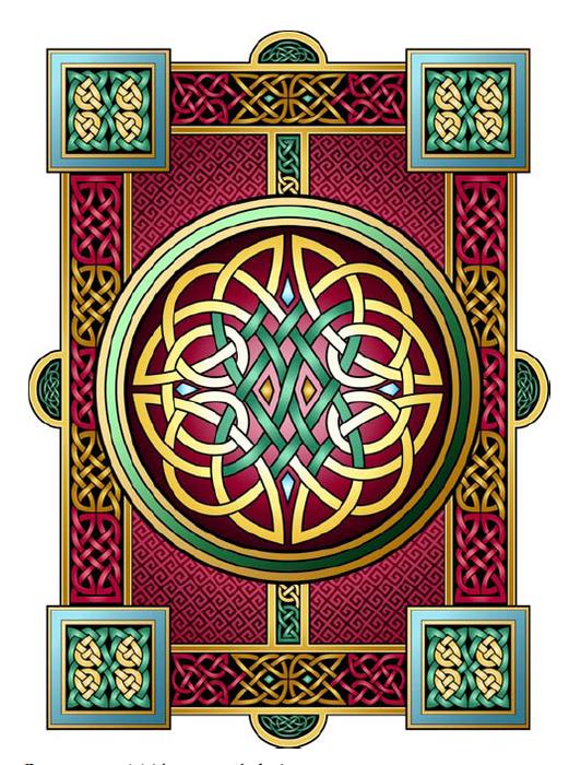 Оригинал - Схема вышивки Кельтский узор 2 - Схемы автора TARTUF.