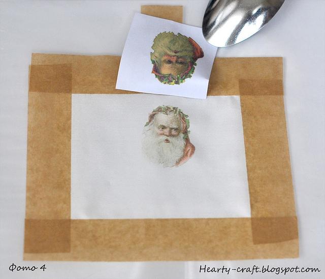 как перевести картинки струйного принтера на ткань