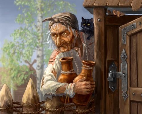 Картинки Баба Яга На Рабочий Стол