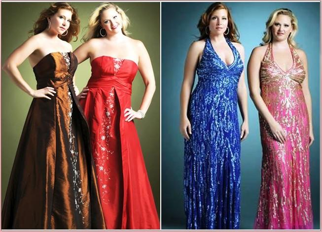 платья для полных невысоких женщин.
