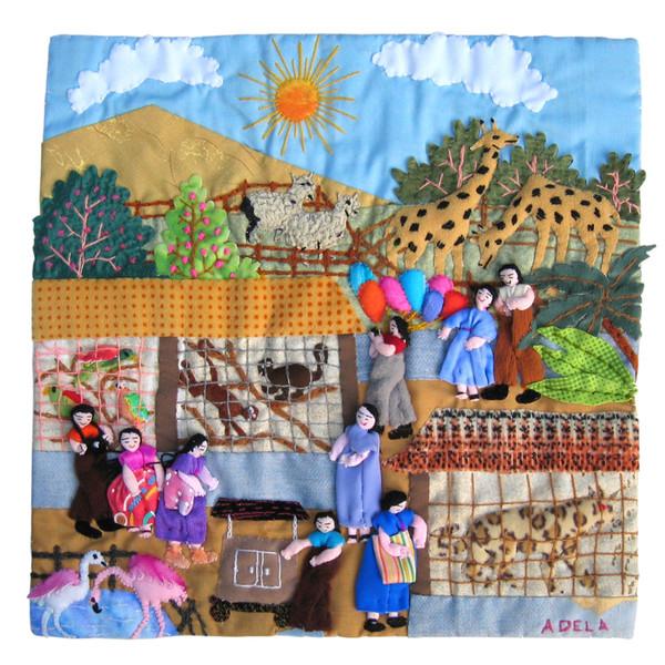 Картины в разных техниках лоскутного шитья.