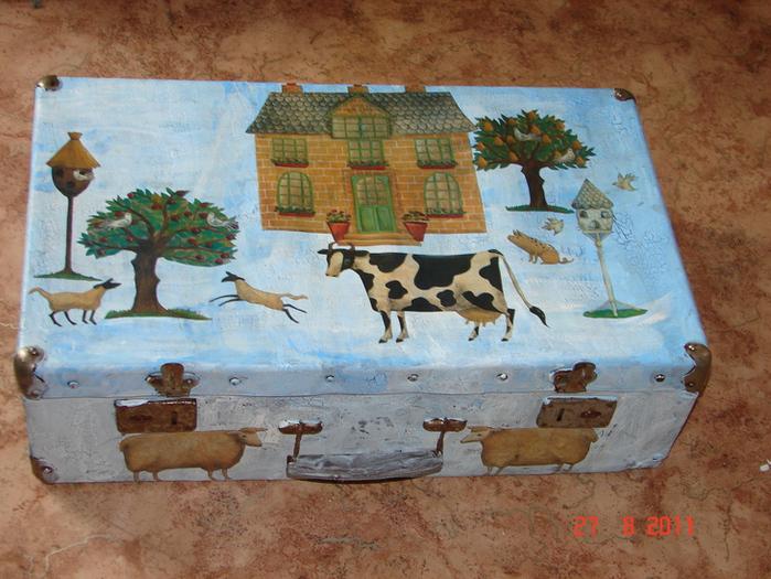 старый чемодан мастер класс - Выкройки одежды для детей и взрослых.