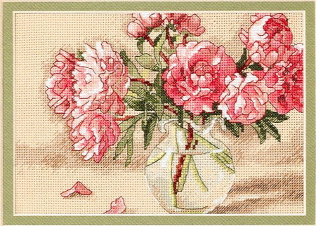 Peonies in vase (450x322, 154Kb)