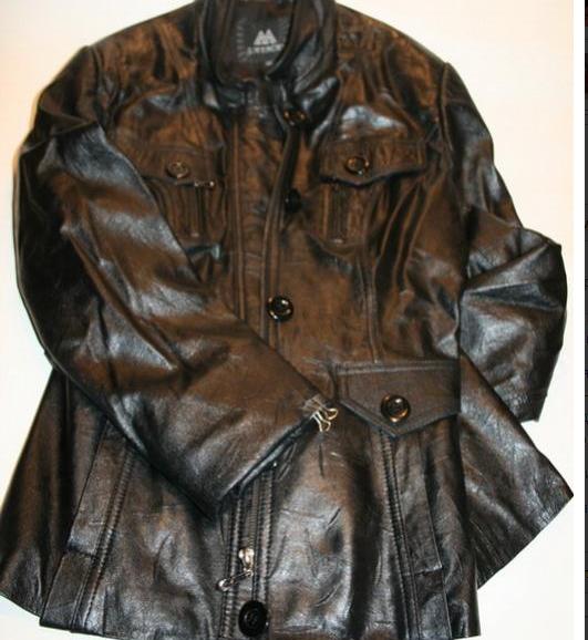 одежда. переделка кожаной куртки.