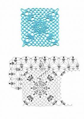 свой цитатник или сообщество.  Вязание крючком (много мотивов и схем.