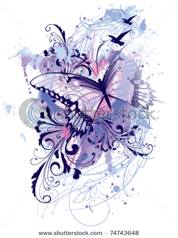 stock-vector-abstract-butterfly-splatter-art-74743648 (351x470, 75Kb)