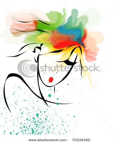 stock-photo-stylish-woman-with-colored-hair-portrait-70334365 (393x470, 48Kb)