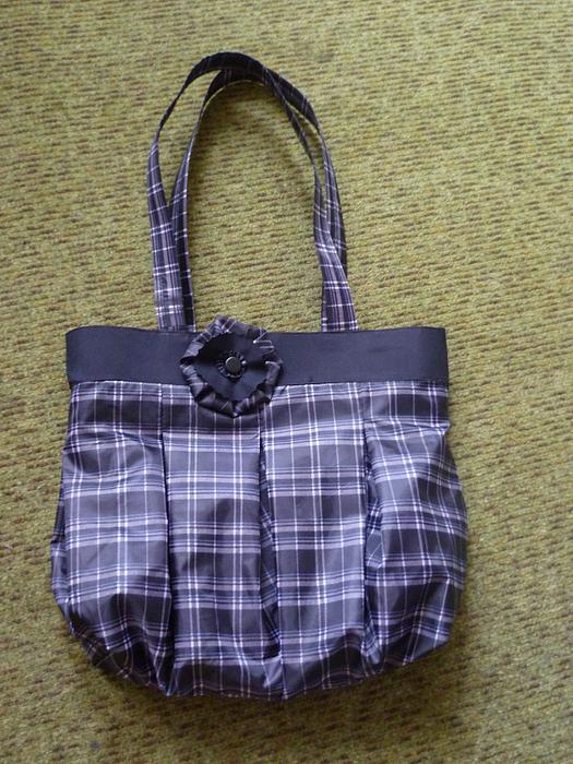 Хозяйственная эко-сумка из старого зонтика. http...