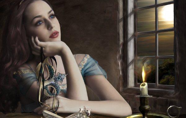 показать приворот с зеркалами на девушку в убывающую луну