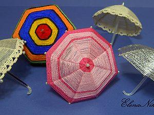 Зонтики и шляпки для кукол своими руками