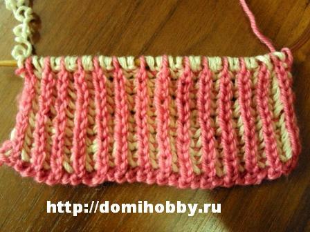 Mi Unassailable вязание спицами шарфа пышная резинка