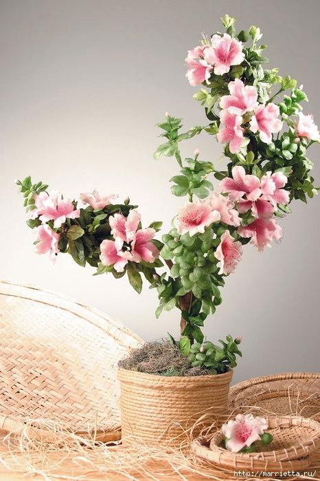 Скачать книгу цветы из холодного фарфора