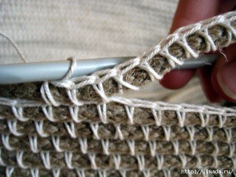 Un panier en corde et crochet4 (465x349, 104Kb)