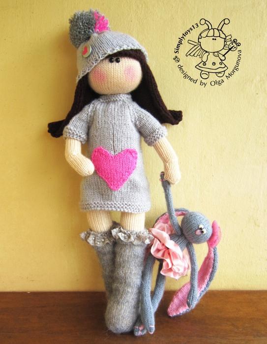 Мастер-классы для вязания амигуруми-куклы 199