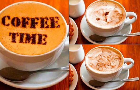 Печать изображений на кофейной пленке стала реальностью