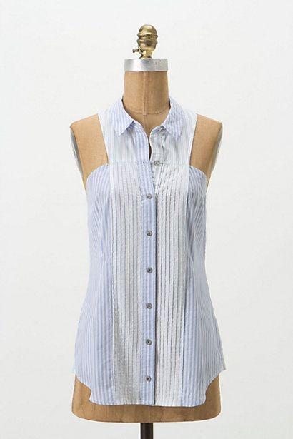 28c4485892fc Необычная блузка / Рубашки / Своими руками - выкройки, переделка ...