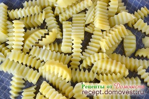 Картофель фри - как в Макдональдсе
