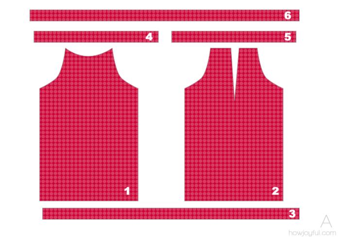 Выкройка приталенной блузки - Выкройка