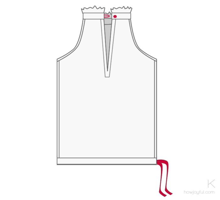 Сшить своими руками красивую летнюю блузку. Мастер класс santa3