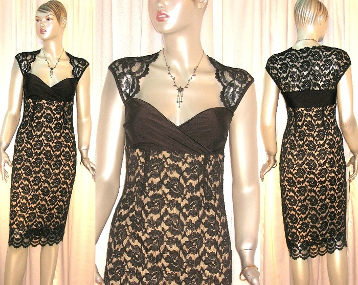 платья из гипюра фото 2013 для полных.