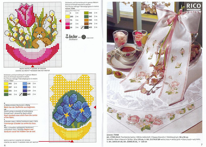 Nietypowy Okaz Handmade-kursy ,wzory ,tutoriale: Haft krzyżykowy-dużo NS21