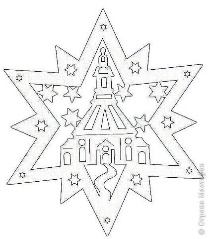 Украшение Вытынанка: Новогодние окна Бумага Новый год.  Фото 3.