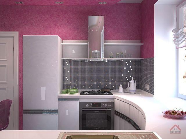 Проект дизайн маленькой кухни формы и бланки для всего