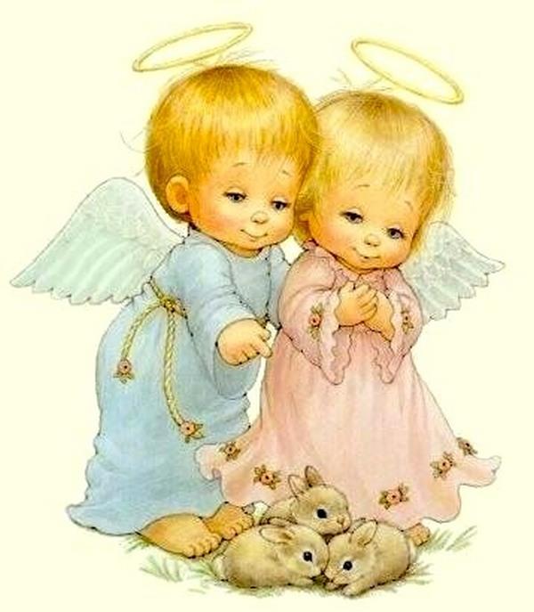 Красивые открытки для близнецов