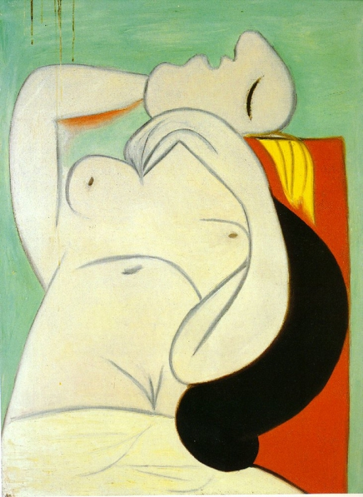 Picasso Le sommeil. 23-January 1932. 130 x 97 cm. Oil on can (511x700, 257Kb)