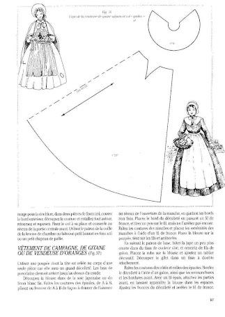 Скачать выкройку платья для куклы