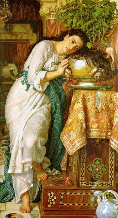 Уильям Холман Хант(William Holman Hunt) 3166706_43637822_Isabella_and_the_Pot_of_Basil (700x1200, 269Kb)