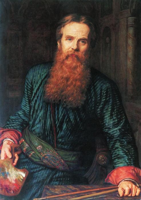 Уильям Холман Хант(William Holman Hunt) 3166706_William_Holman_Hunt__Selfportrait (700x950, 274Kb)