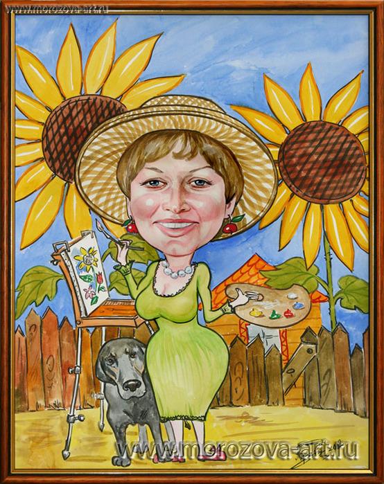 Женщина в огороде картинки прикольные шарж, открытка сердечко открытки
