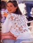 Пуловер с ажурной спинкой. Обсуждение на LiveInternet - Российский Сервис Онлайн-Дневников