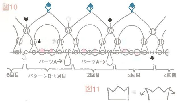 Корона из бумаги схема 1