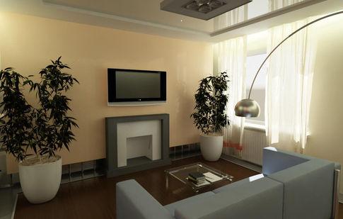 Декоративный камин из гипсокартона в квартире Сама себе дизайнер интерьера